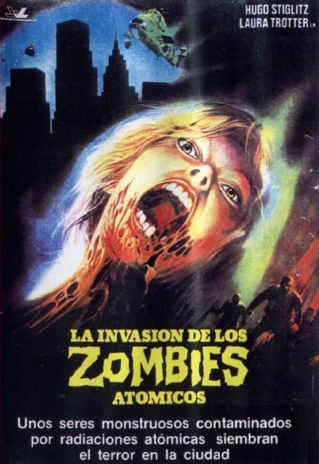 La Invasion de los Zombies Atomicos POSTER