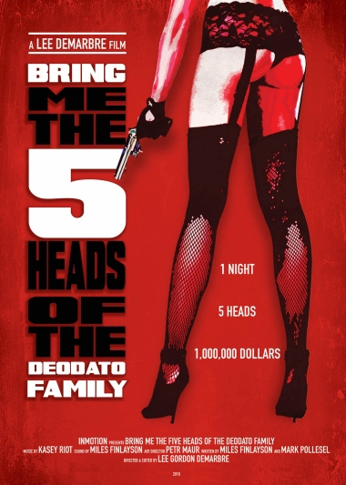 5 heads one sheet poster